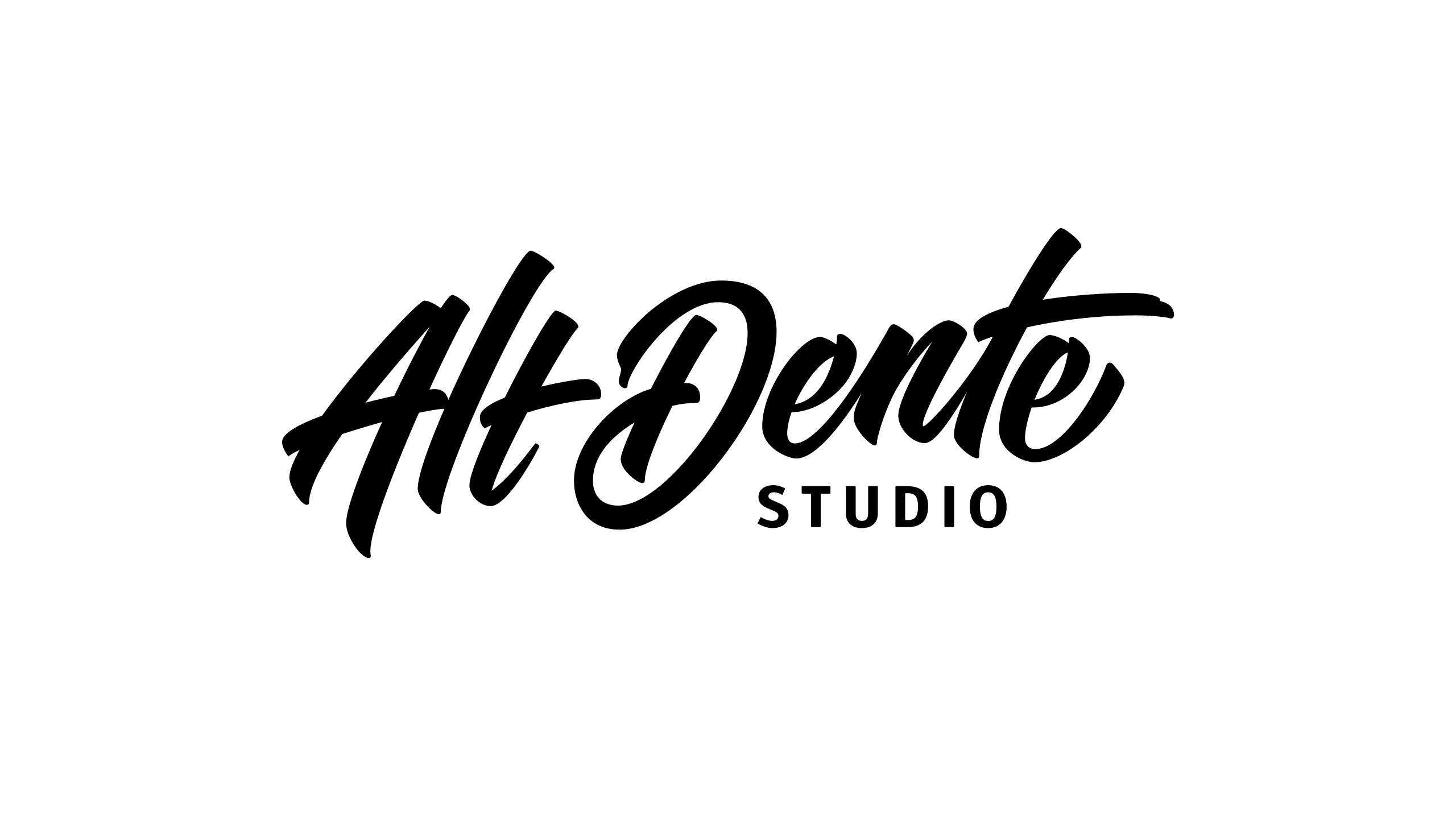 Final logo design for Alt Dente Studio