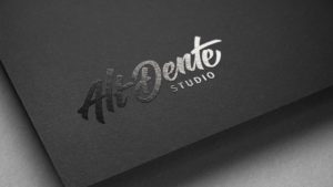 Shiny logo for Alt Dente Studio