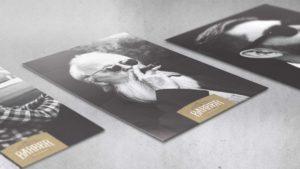 Poster design for Barber Art & Crafts
