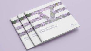 Brochure design for Eve Stockholm