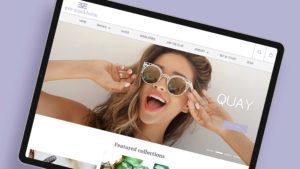Website design for Eve Stockholm