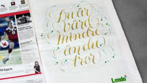 Printed design for Jung Von Matt