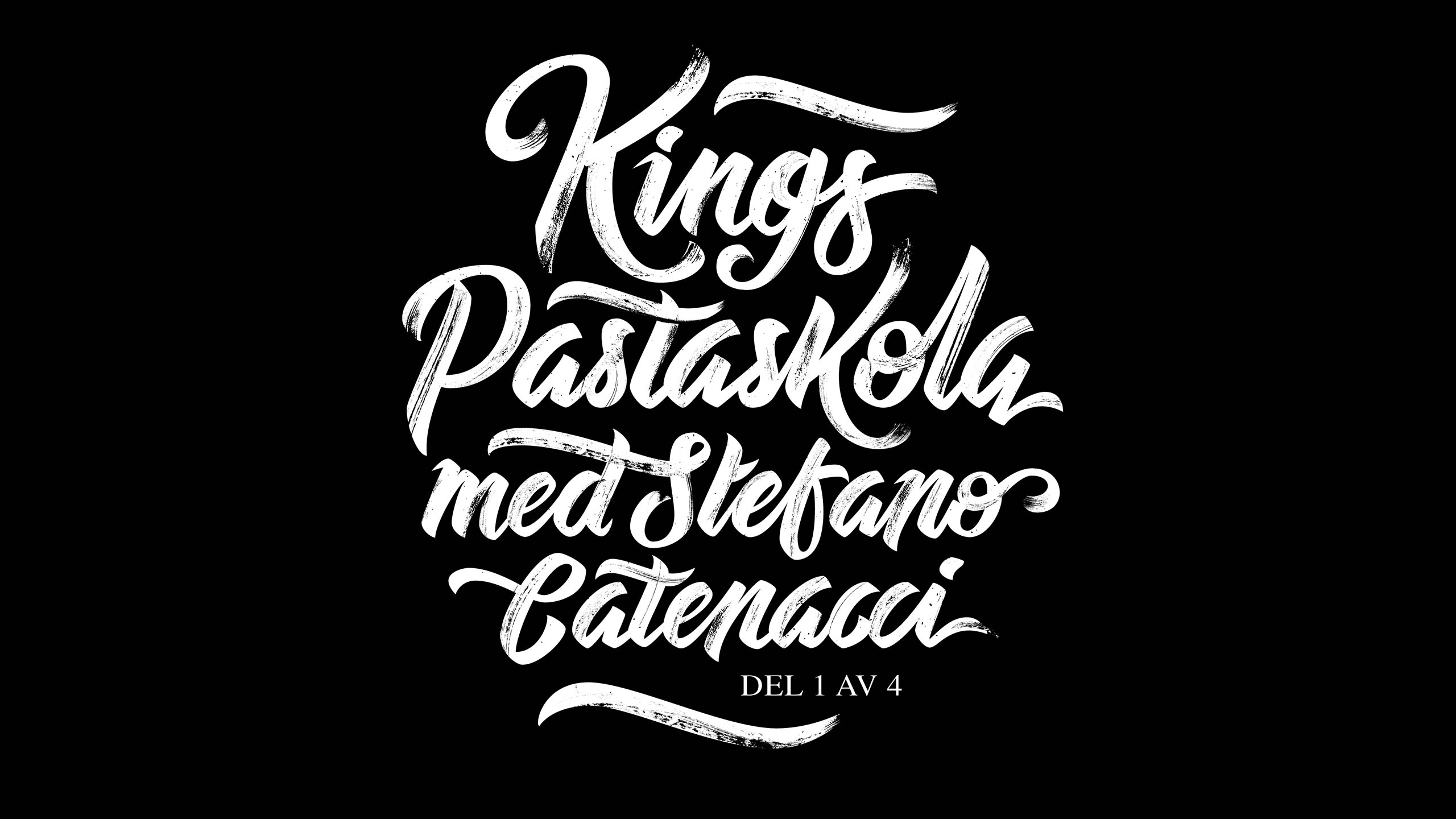 Final lettering for King Magazine.