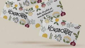Business cards for Köksbordet