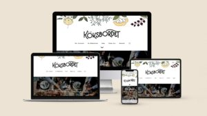 Website for Köksbordet