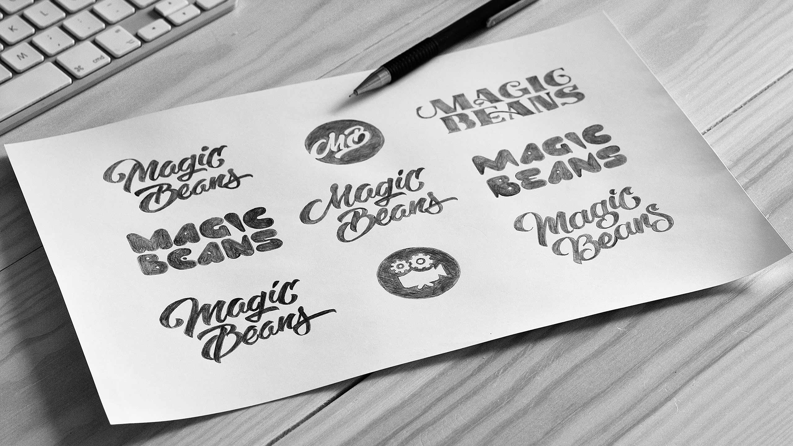 Sketches for Magic Beans