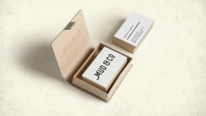 Business cards design for Mud & Co