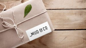 Card box design for Mud & Co