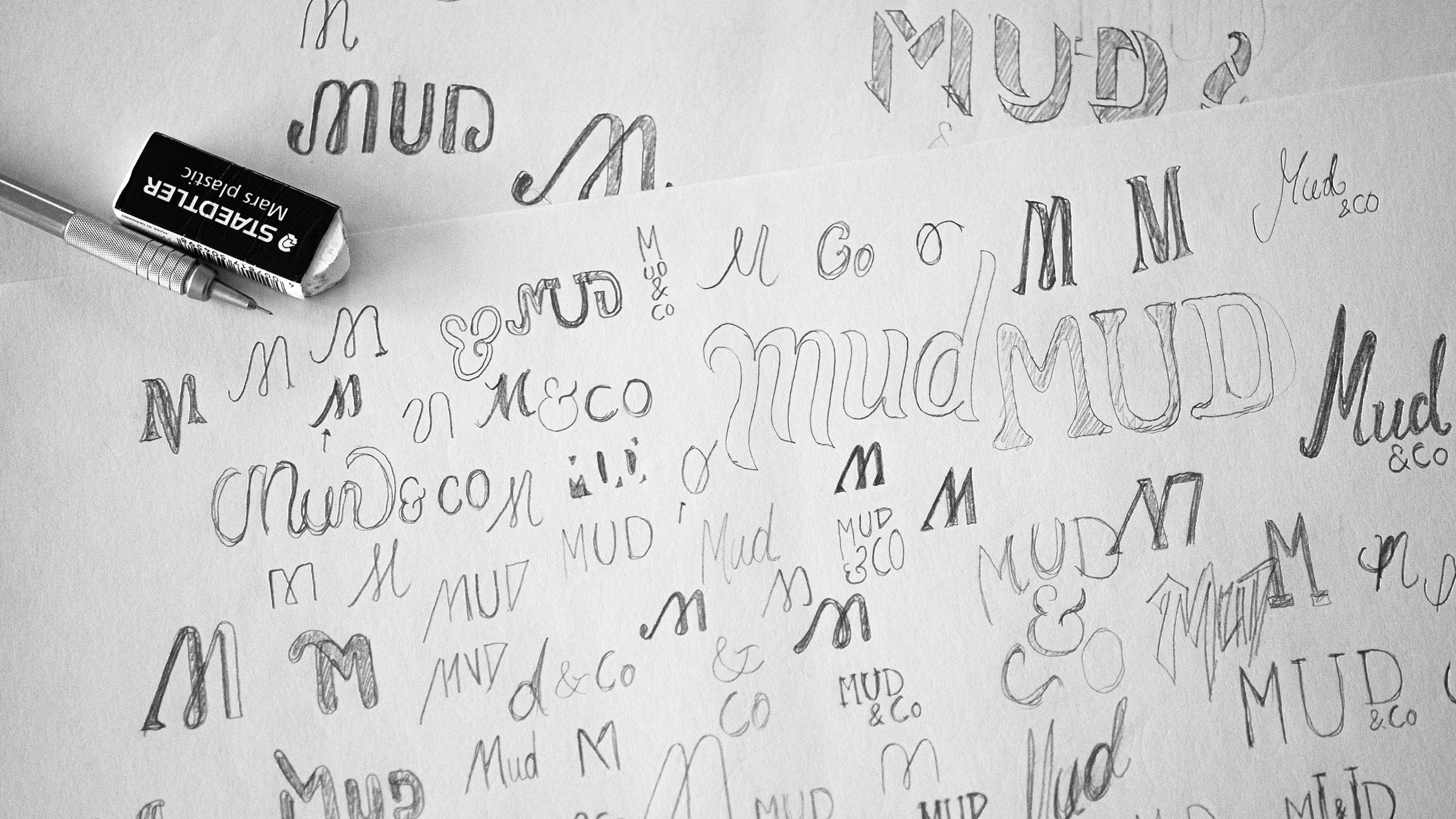 Sketches for Mud & Co