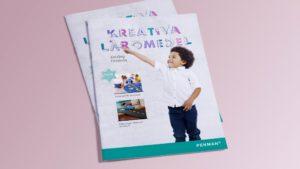 Brochure cover design for Penman