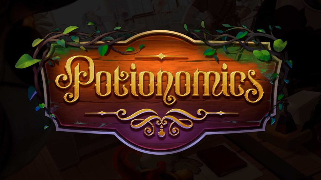 Final logo for Potionomics