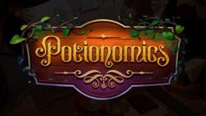 Final logo for Potionomics