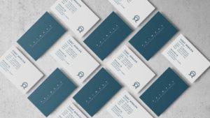 Business cards design for Primare