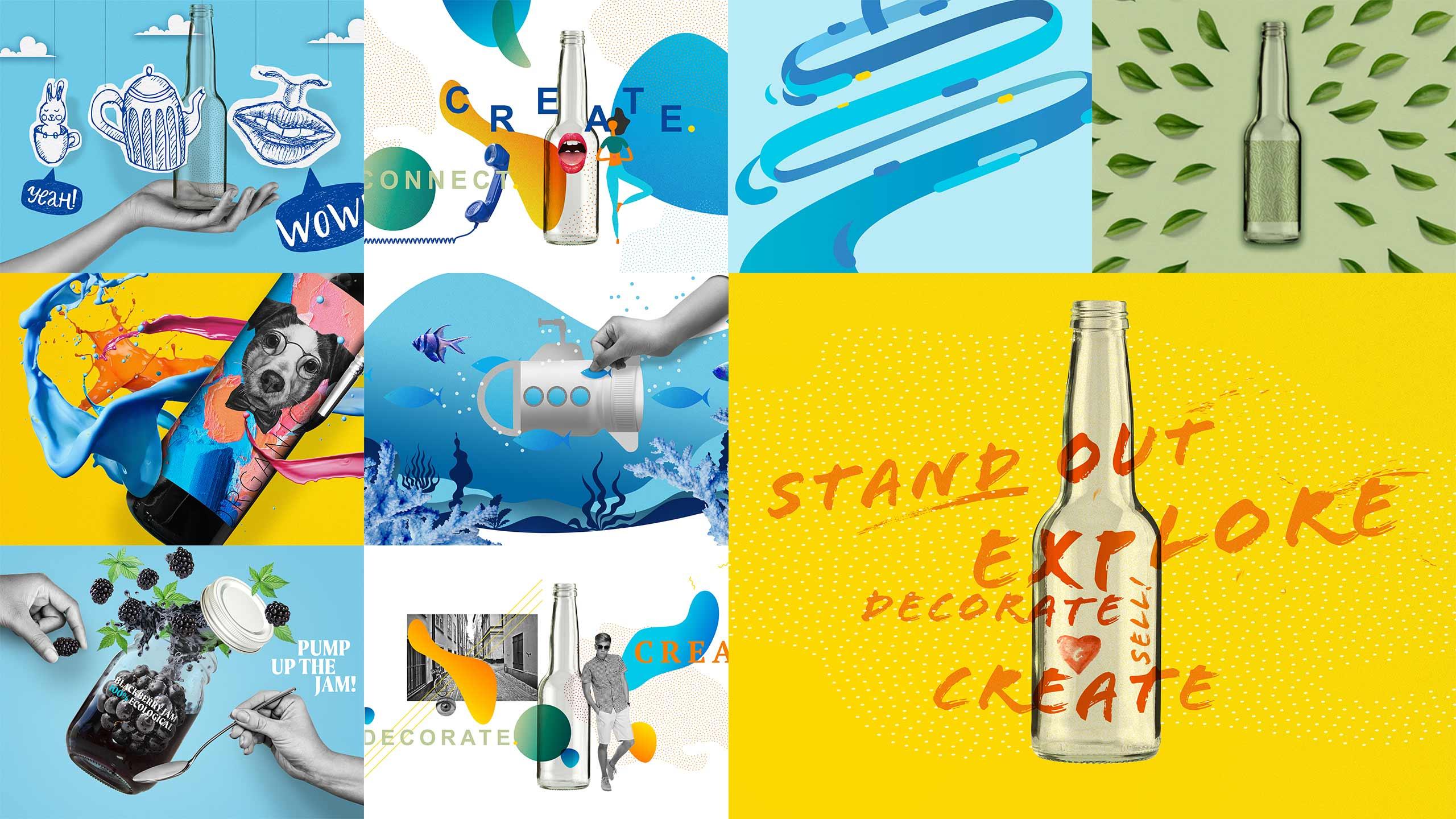 Digital concept drafts for Skanem