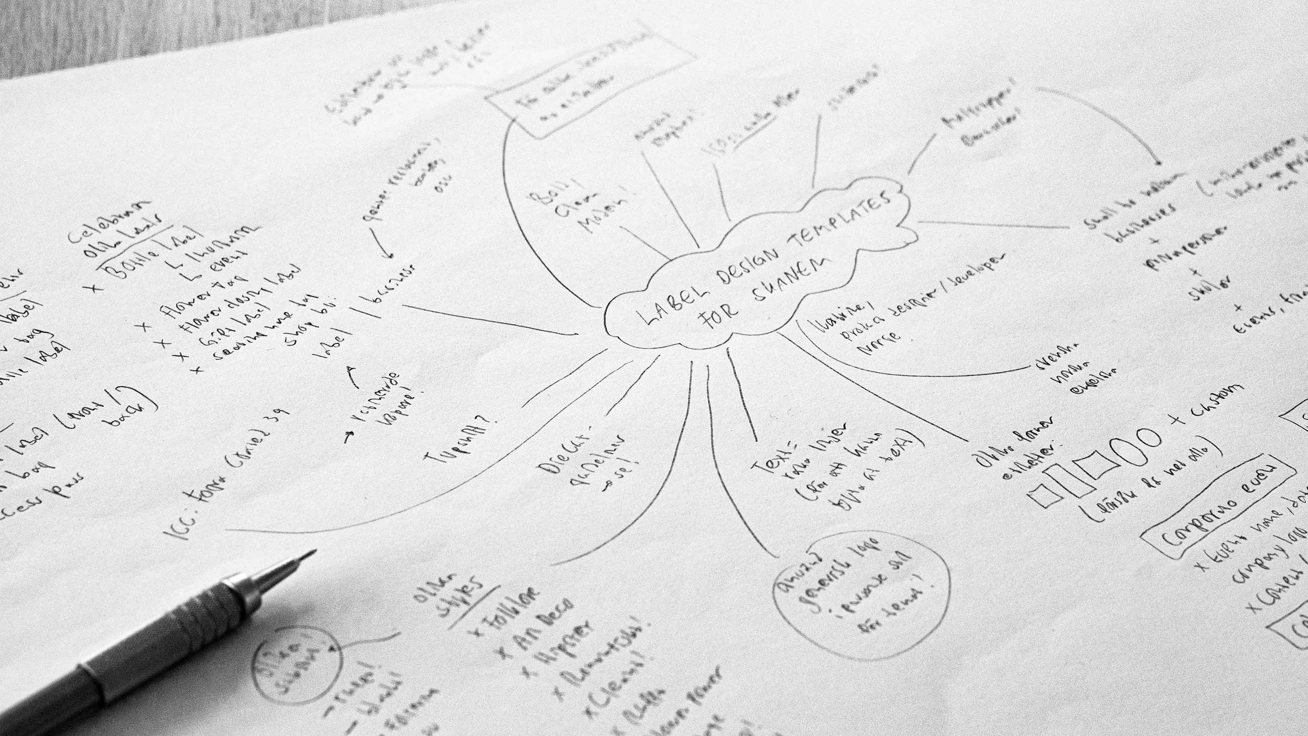 Mind map for Skanem
