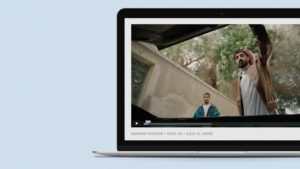 Vimeo site design for Two Tales.