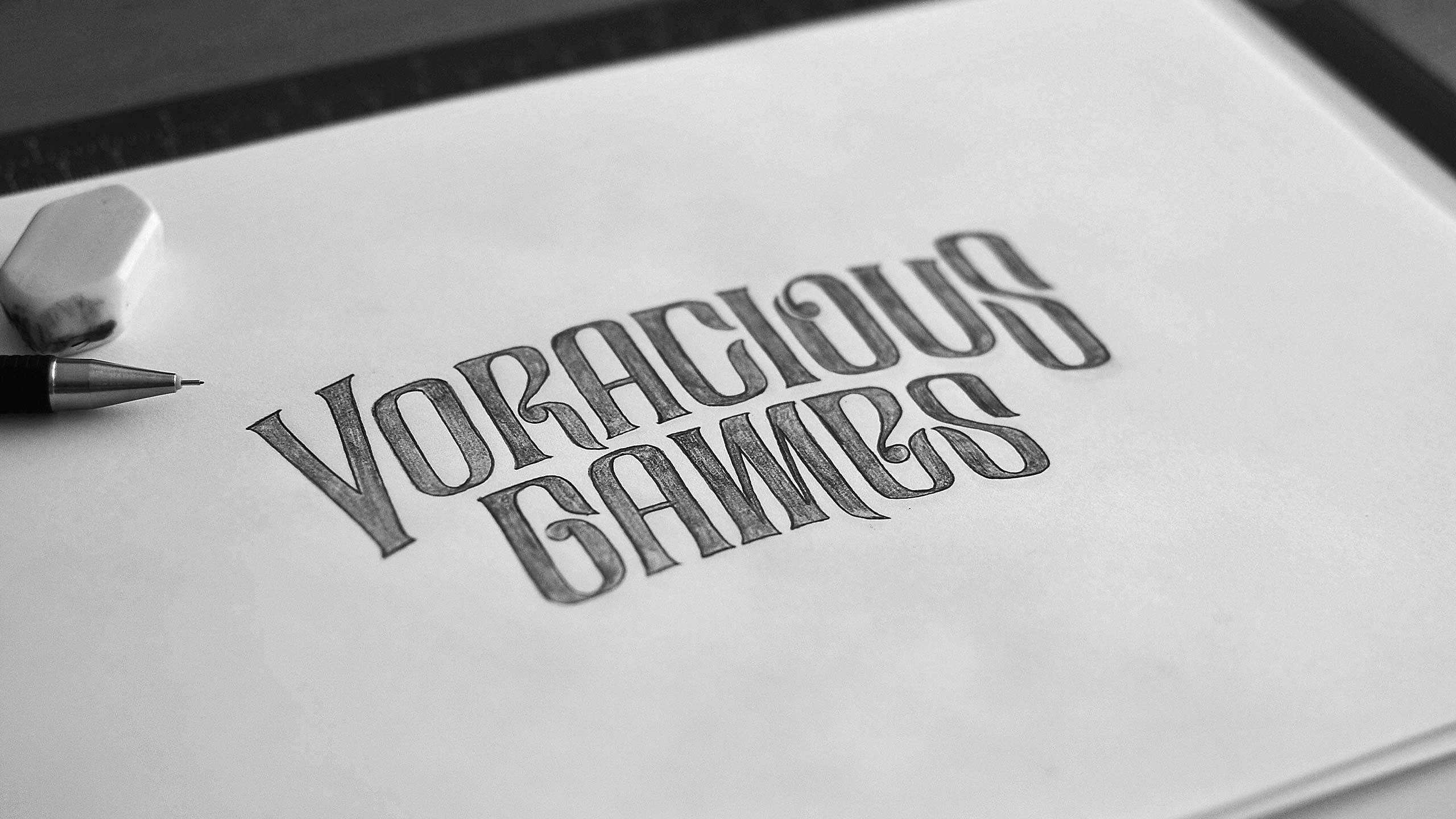 Refined sketch for Voracious Games