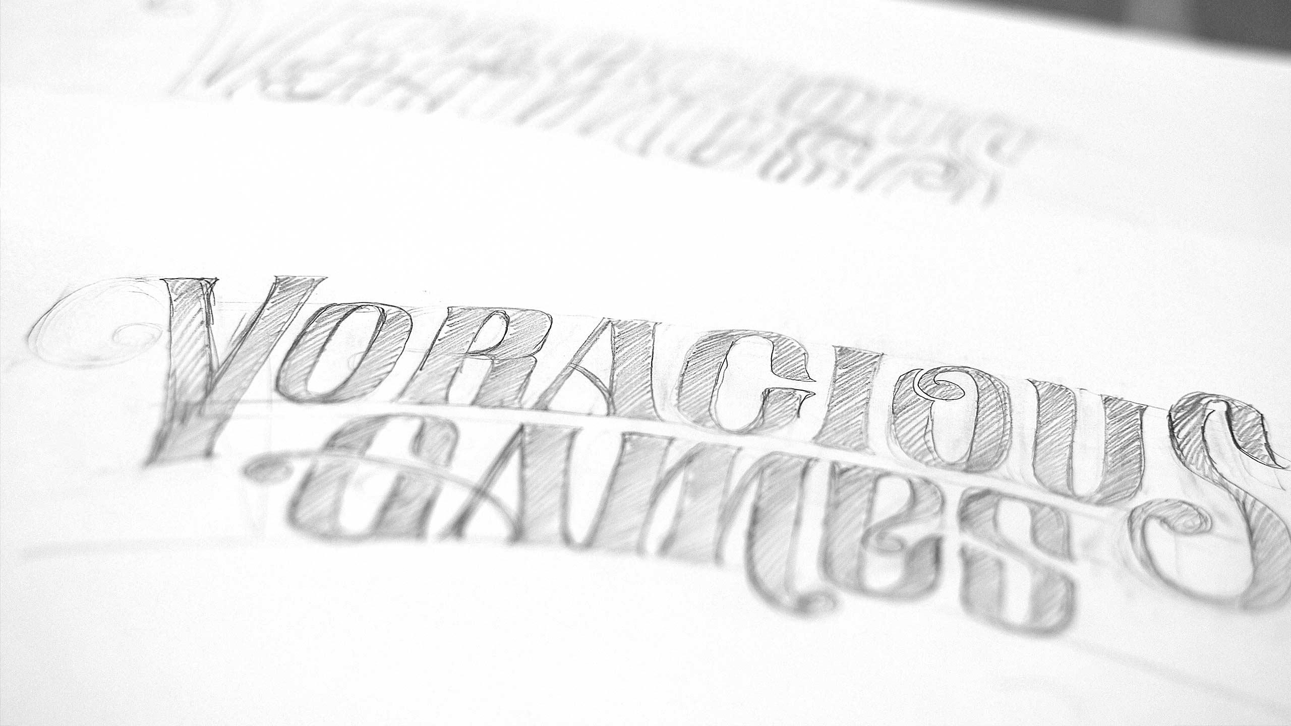 Sketch for Voracious Games
