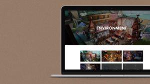 Website for Voracious Games
