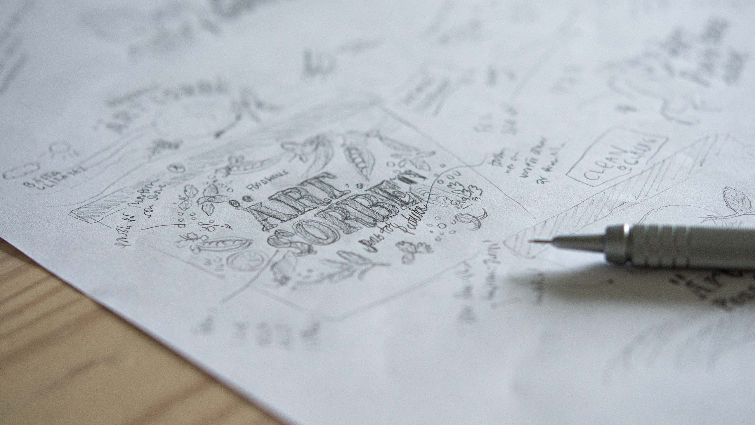Photo of sketch for Foodhills.