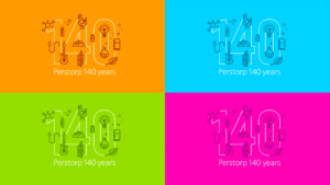 Final symbols for Perstorp 140 years anniversary.