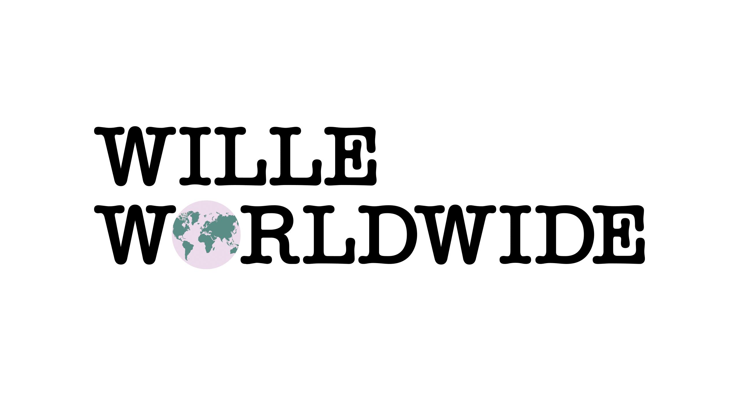 Final logo for Wille Worldwide.